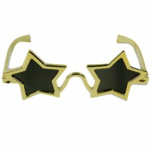 Gold Star Novelty Glasses