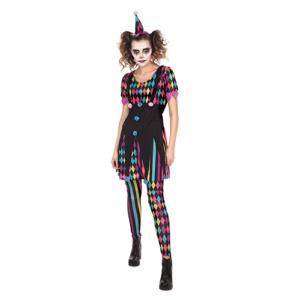 Multicolour Mischief Ladies Halloween Costume